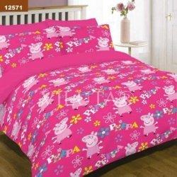 Детское постельное белье «Peppa»