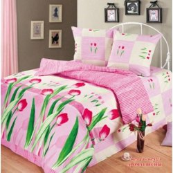 Комплект постельного белья «Аромат весны»