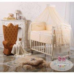 Набор в кроватку «Маленький принц» Swarovski