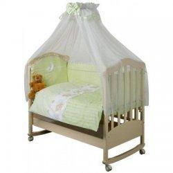 Набор в кроватку для новорожденных «Шапочкки» Ноченька