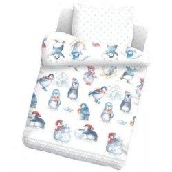 Дитяча постільна білизна «Маленькі пінгвеня»