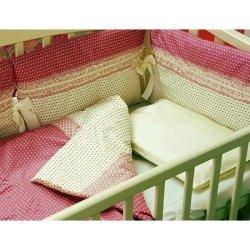 """Комплект в кроватку для новорожденных """"Элиза"""""""