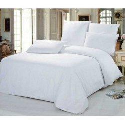 Белое постельное белье «Ranforce»