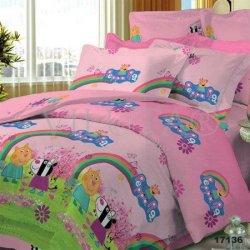 Детское полуторное постельное белье «Пеппа Фея»