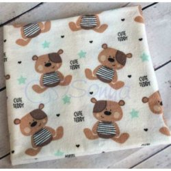 """Пеленка для новорожденного """"Мишки Тедди"""""""