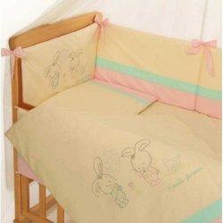 Детское постельное белье Funny Bunny Pink