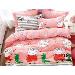 Детское постельное белье Вилюта 184 Диноэра розовое