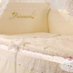 Бампер на кроватку «Принцесса»
