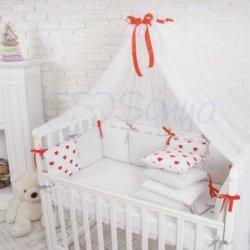 Балдахин Baby Design Red
