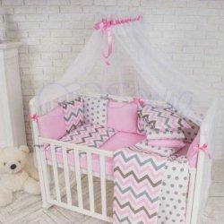 Балдахин Baby Design Pink