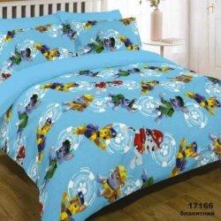 Детское постельное белье «Патруль голубой»