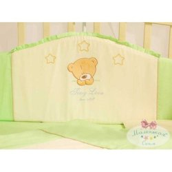 Защита на кроватку Tiny Love Light Green