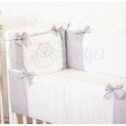 Защита на кроватку Smile Gray