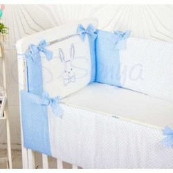 Защита на кроватку Smile Blue