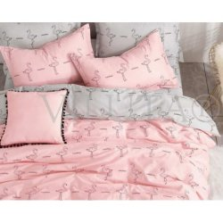 Детское постельное белье «Розовый фламинго»
