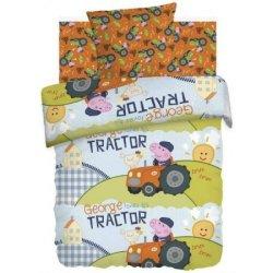 Детское постельное белье «Джордж тракторист»