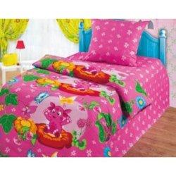 Полуторное постельное белье «Лунтик и бабочки»