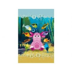 Набор детских махровых полотенец «Подводный мир»