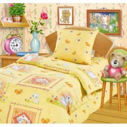 Полуторное постельное белье «Пони»