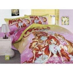Детское постельное бельё  «Winx»