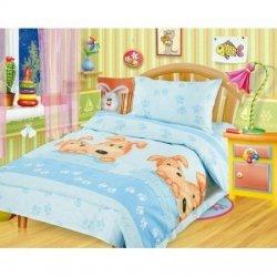 Детское постельное белье в кроватку «Собачки»