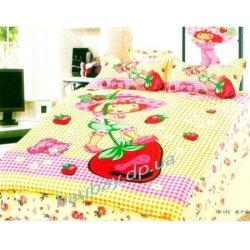 Детское постельное бельё  «Клубничка»