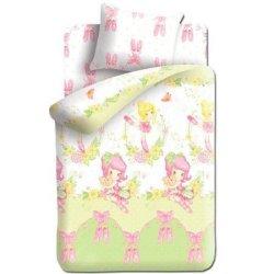 Детский комплект постельного белья «Балерины»