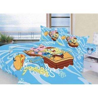 Детское постельное бельё Губка Боб