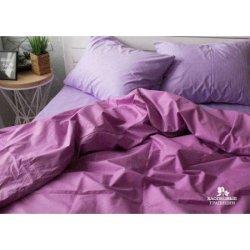 Постельное белье Хлопковые Традиции поплин PF003 фиолетово-сиреневое