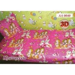 Детское постельное белье «Принцессы» в кроватку