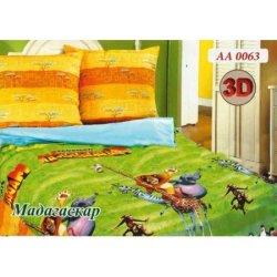 Детское постельное белье «Мадагаскар»