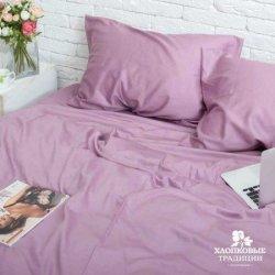 Постельное белье Хлопковые традиции сатин SE09 фиолетовое