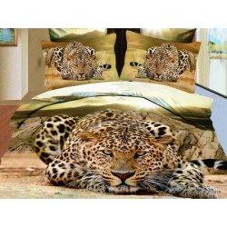 """Постельное бельё 3Д """"Cheetah"""""""