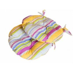 Подушка на стул Stripe круглая