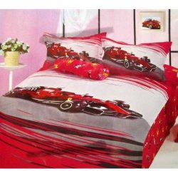 Подростковый комплект постельного белья «Гонки»