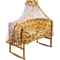 Набор в кроватку «Мишки спят»