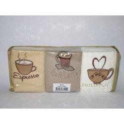 Набор кухонных полотенец Кофе-Фрукты