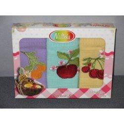 Набор вафельных полотенец «Фрукты»
