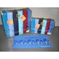 Набор махровых полотенец «Dolphins» Cotton