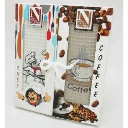 Набор вафельных полотенец «Coffee» Chef