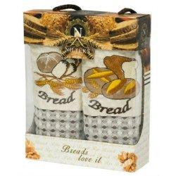 Набор кухонных полотенец «Breads Love it»