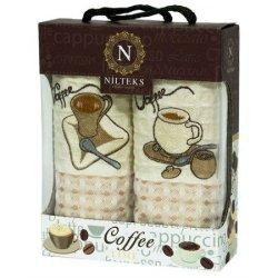 Набор кухонных полотенец Roma «Coffee»