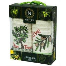 Набор кухонных полотенец «Olive Oil»