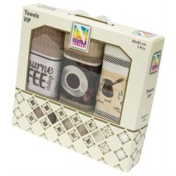 Набор кухонных полотенец VIP Towels «Coffee»