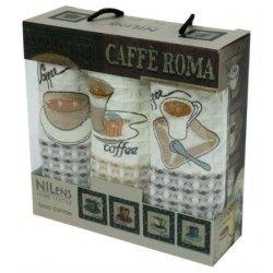 Набор кухонных полотенец «Caffe Roma»