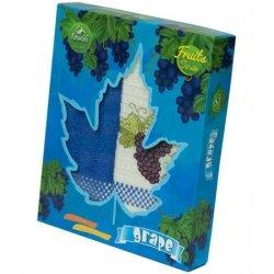Набор кухонных полотенец Fashion Series Fruits «Grape»
