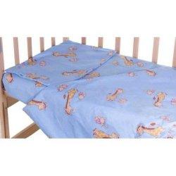 Сменное постельное белье в кроватку «Жирафы»