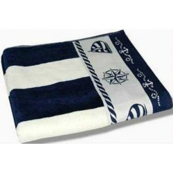 Полотенце велюровое «Pusula Blue»