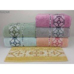 Набор махровых полотенец «Nazar»