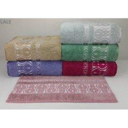 Набор махровых полотенец «Lale»